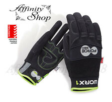 3x Force360 Mechanics Work Gloves Worx1 Safety Hand Protection Glove AS/NZS PPE