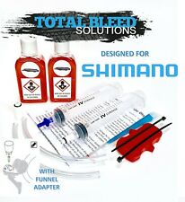 Shimano Brake Bleed Kits - Top up to Funnel Type. 5ml 50ml 100ml More Options.