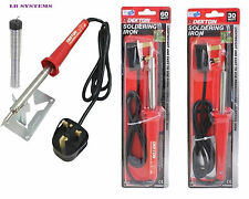 DEKTON SOLDERING IRON 30 WATT AND 60 WATT 20g tube 60/40 tin lead solder wire