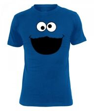 Sesame Street Monster T-Shirt male royal