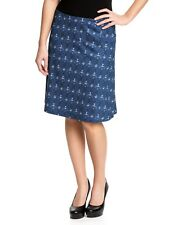 Pussy Deluxe Seahorse Skirt navy