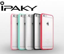 *ORIGINAL IPAKY* Ultrathin Soft TPU Silicon PC Clear Case For Apple iPhone 6 6S