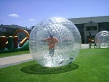 9.8ft 3M PVC Inflatable Zorb Ball Zorbing Human Hamster Ball Water Walking Ball
