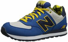 Baskets basses New Balance 574 ML574FTB homme bleu jaune