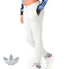 adidas Originals Women's Sweat Track Pants Roll Up Cuffs Cotton Stretch Fit BNWT