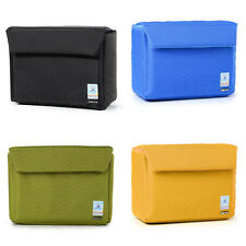 Nylon Shockproof DSLR SLR Camera Case Partition Padded Insert Protection Bag