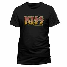 KISS T-shirt BAND LOGO Size M, L XL XXL New