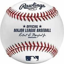 Baseball Rawlings Practice Official Major League Baseballs Leather Stitched New