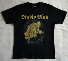 "Diablo Blvd. official T-shirt ""Follow the deadlights"" black NEW (M,L,XL,XXL,3XL)"