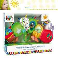 THE VERY HUNGRY CATERPILLAR ACTIVITY TOY CATERPILLAR Soft Toy Pushchair Toy