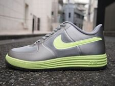Nike Lunar Force 1 Fuse Grey Silver/Volt Green Mens Trainers Shoes 9_9.5_10_11