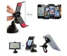 360° Rotating Windscreen Universal Car Mount Holder Stand For All Mobile Phones