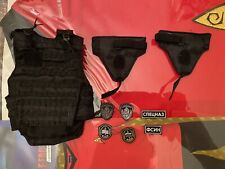 DAMTOYS OSN Saturn Jail Spetsnaz Armour Molle Vest & Patches loose 1/6th scale