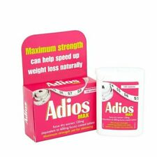 Adios & Adios MAX Traditional  Herbal Aid for Slimming, 100 Tablets