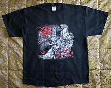 """Darkthrone official T-shirt """"Fuck off and die"""" black  NEW (XL)"""
