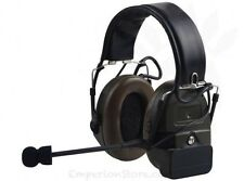 Z-TAC Comtac I Headset Airsoft Softair Military Communication Cuffia