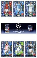 Match Attax 2015/16 UEFA Champions League Trading Cards. Star Players