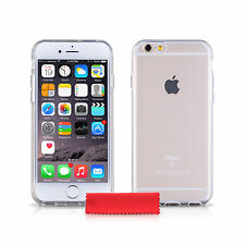 iDefend Clear Gel / Plastic Case Cover For Various Apple iPhone Models