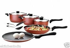 Premier Netraa nonstick cookware set 10 pcs