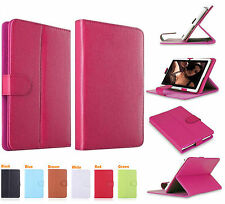 "Universal Leather Stand Folding Folio Case Cover For All 10""10.1""Tablets Android"