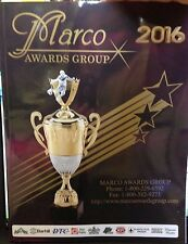 Trophy and Awards Catalogs by Marco Awards Group with price list new