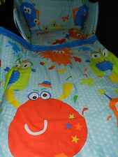 NEW MONSTERS - JUNIOR - SPACESAVER COT - COT or COTBED SET