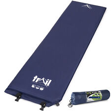 Single Self Inflating Camping Roll Mat Inflatable Sleeping Mattress 5cm Thick