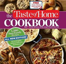 Taste of Home Cookbook : 1,380 Busy Family Recipes for Weeknights, Holidays...