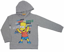 The Simpsons Bart Simpson Kapuzensweatshirt Sweatshirt light grey melange