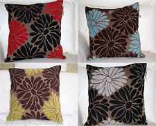 Cushion Covers only Nice beautiful Floral Dekota 18 x 18 inch  or  45 x 45 cm