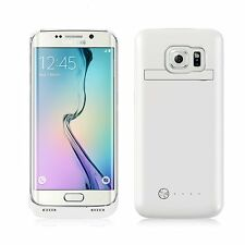 Samsung S6 Edge Battery Case 4200mAh Screen Cover Backup Power Charger Stand