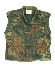 Genuine GERMAN Army Issued Flecktarn Camo Combat Field Tactical Vest GRADE 1