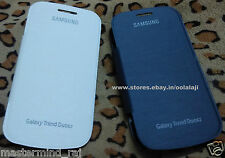 Premium Quality Flip Battery Back Case For Samsung Galaxy Trend II Duos S7572