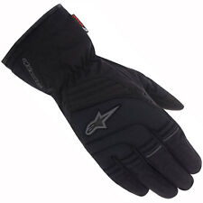 Motorcycle Alpinestars Gloves Transition Drystar WP - Black Grey UK