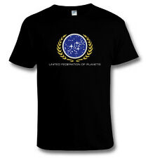STAR TREK United Federation of Planets HEAVY COTTON T-SHIRT All Sizes ~ 3XL, 4XL