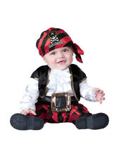 InCharacter Cap'n Stinker Pirate Infant Fancy Dress Baby Costume 0-24 Months