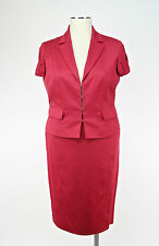 TAILLEUR GONNA DIANA GALLESI mod.9F94R0 col.ROSSO SCONTO 70%