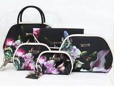 NEW TED BAKER 2016 DESIGNER MAKE UP CASE COSMETIC TRAVEL WASH BAG VANITY HANDBAG