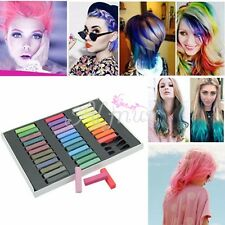 Mode Temporaire Coloration De Cheveux Craie Teinture Pastels Tendres Salon