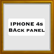New Apple IPhone 4s - Back Battery Panel - White / Black