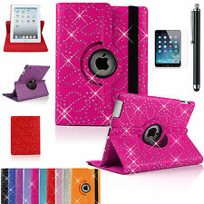 Bling/DIAMOND360°Leather Smart Stand Cover For APPLE iPad4/3/2 Air 1/2 Mini1/2/3
