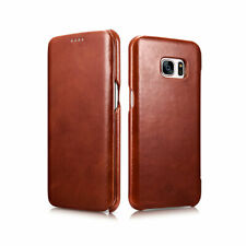 Novada Genuine Leather Flip Case Cover for Samsung Galaxy S7 & S7 Edge