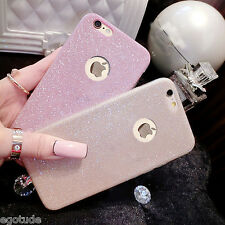 For Apple iPhone 5S & SE Rich Sparkle Soft Silicone Glitter Back Cover Case