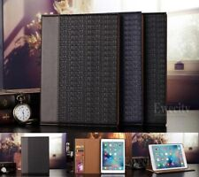 Luxury Folio Wallet Crocodile PU Leather Stand Smart Case Cover For Apple iPad
