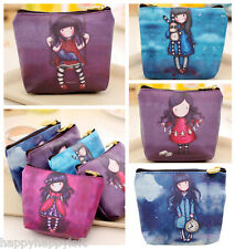 GORGEOUS EMO GIRL GIRLS CUTE COIN PURSE ZIP WALLET HIGH QUALITY BIRTHDAY GIFT