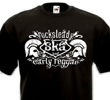 T-SHIRT Rocksteady Ska Early Reggae Studio One Rude Boy Skinhead 60's Trojan