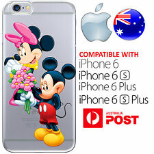 Silicone Case Cover Mickey Mouse Minnie Cartoon Disney FreshPrint AUS