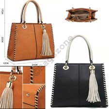 High Quality Ladies Womens Celebrity Tote Handbags Leather Style Shoulder Bag UK