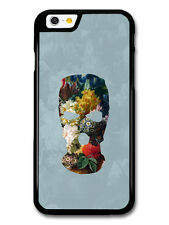 Balaclava Illustration on Flower Painting Goth Grunge case for iPhone & Samsung