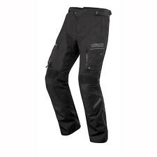 Motorcycle Alpinestars Valparaiso 2 Drystar Trousers Short WP - Black Grey UK